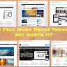 Is free Word Press themes not worth it?