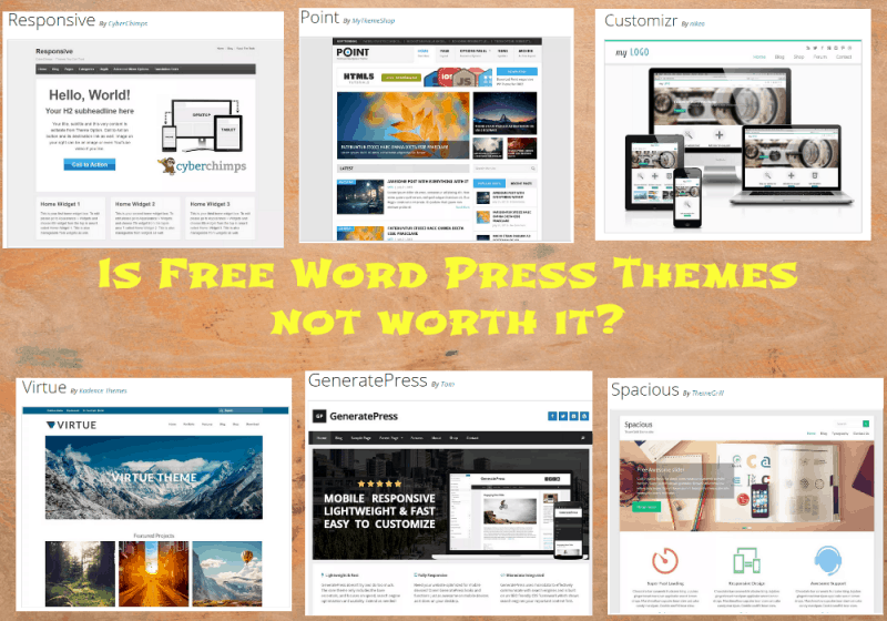 Free Themes Not worth it