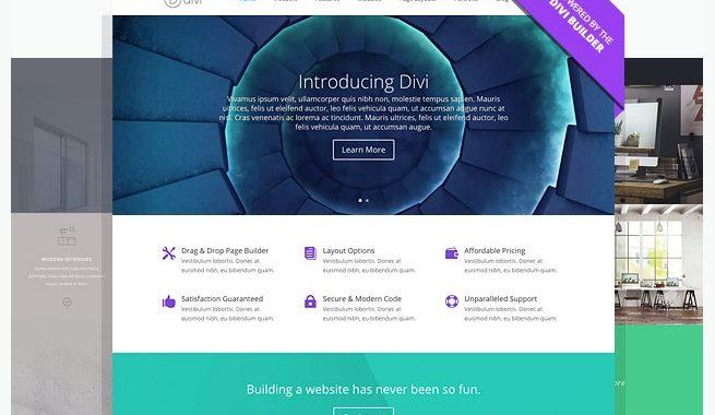 Divi Theme Review – Ultimate Multi-Purpose Elegant theme