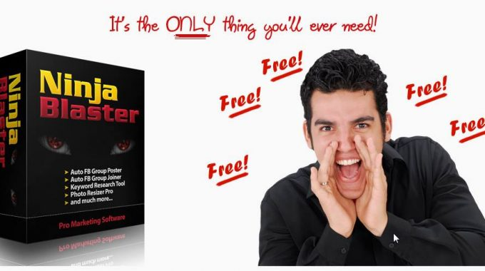 Ninja Blaster Review: All in One Solution for Internet Marketers