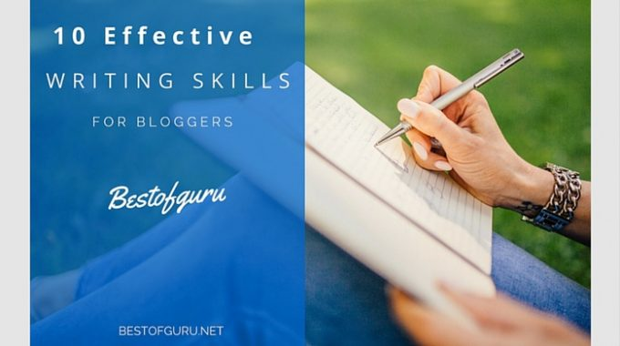 10 Effective writing tips to improve your blog