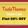 TeslaThemes Coupon Code – 50% OFF [3rd Anniversary Sale]
