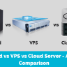 Dedicated vs VPS vs Cloud Server – A detailed comparison