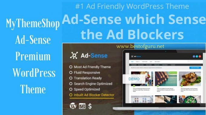 MyThemeShop: Ad-Sense Premium WordPress Theme