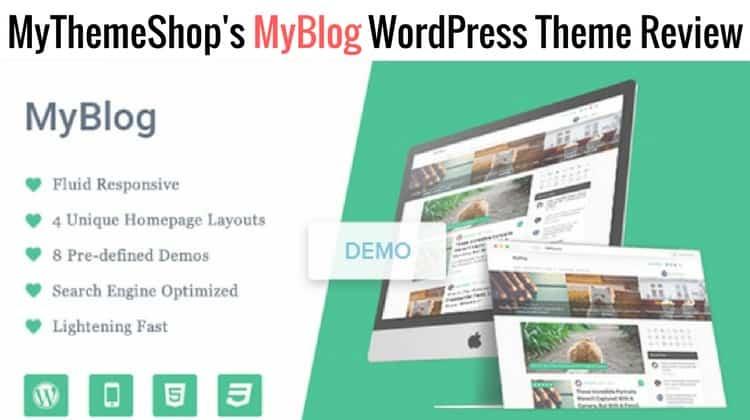 MyBlog WordPress Theme - MTS