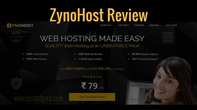 ZynoHost Review : Reliable and Affordable Web Hosting