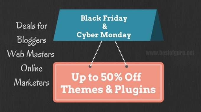 Best Black Friday and Cyber Monday WordPress Deals & Discounts 2016