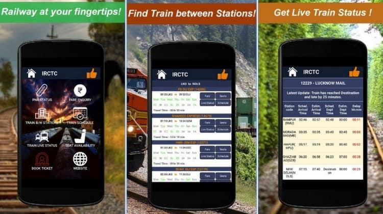Railway PNR Check APP