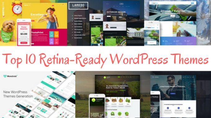 Top 10 Retina-Ready WordPress Themes for your awesome projects
