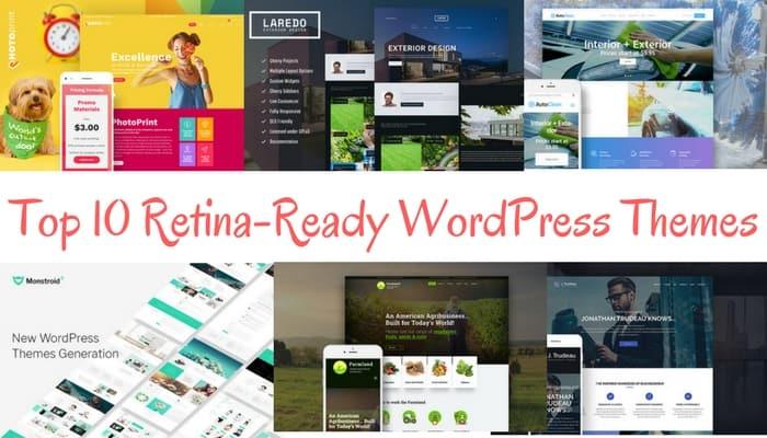 Top 10 Retina-Ready WordPress Themes