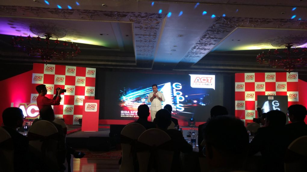 ACT Fibernet -1 Gbps Speed - Wired Internet Connection