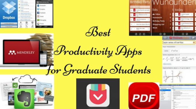 Best Productivity Apps for Graduate students to Improve Productivity!
