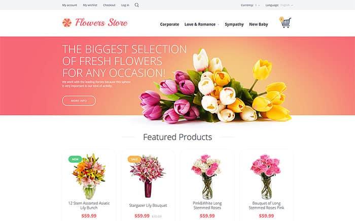 Flowe Shop Ecommerce Themes