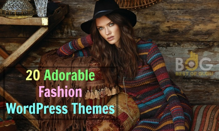 Something for Your Inspiration: 20 Adorable Fashion WordPress Theme