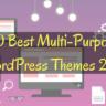 40 Best Multi-Purpose WordPress Themes 2018